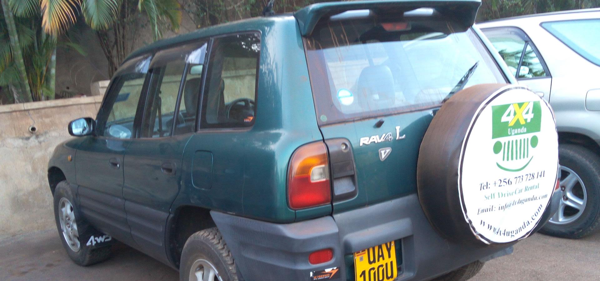 4X4 Rav4 for Hire in Uganda