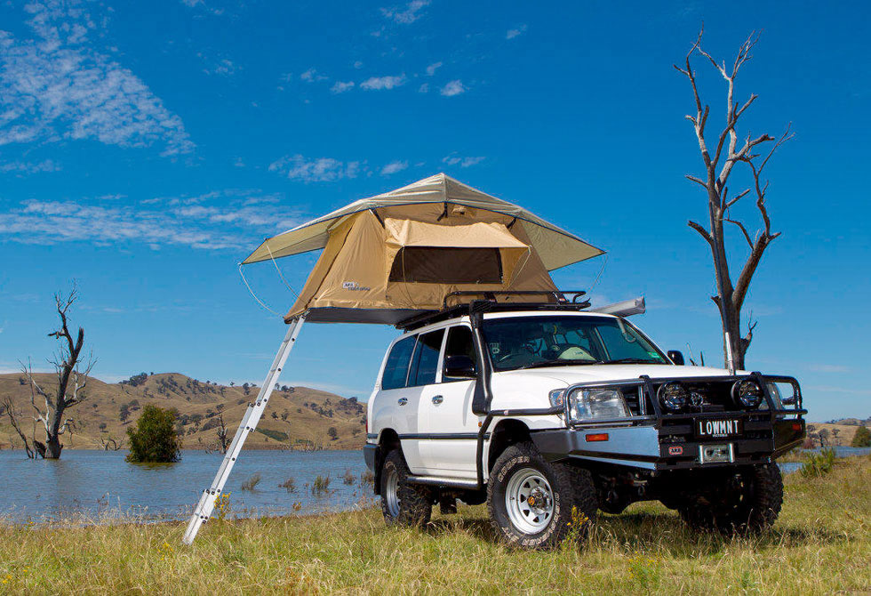 Root Top Tent Jeep