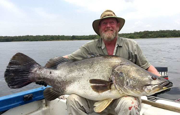 Spot Fishing on River Nile - Murchison Falls National park