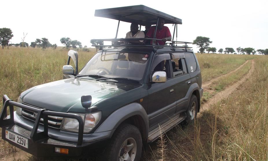 Pop-up Land Cruiser Prado