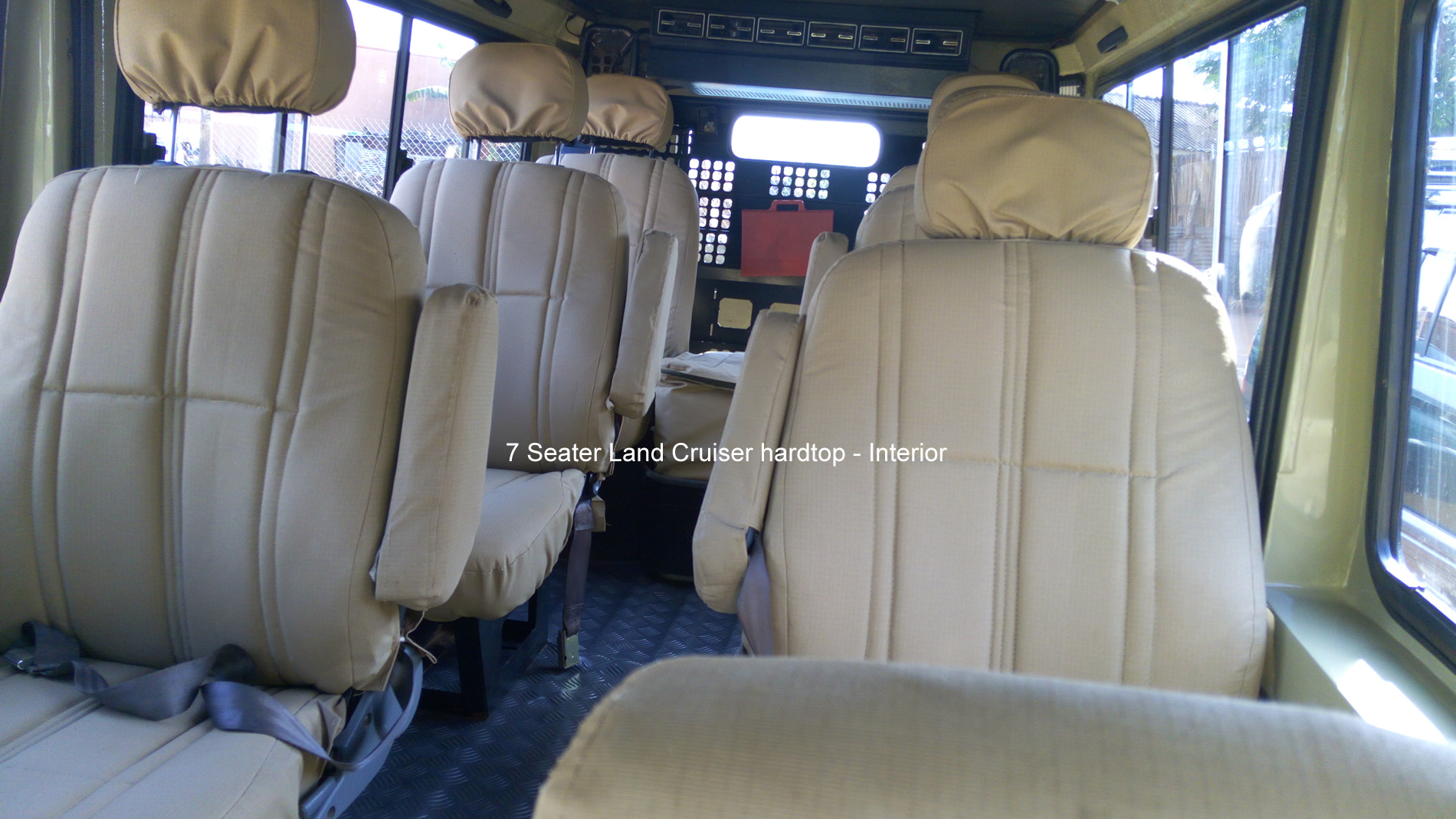 Land Cruiser Hardtop Interior