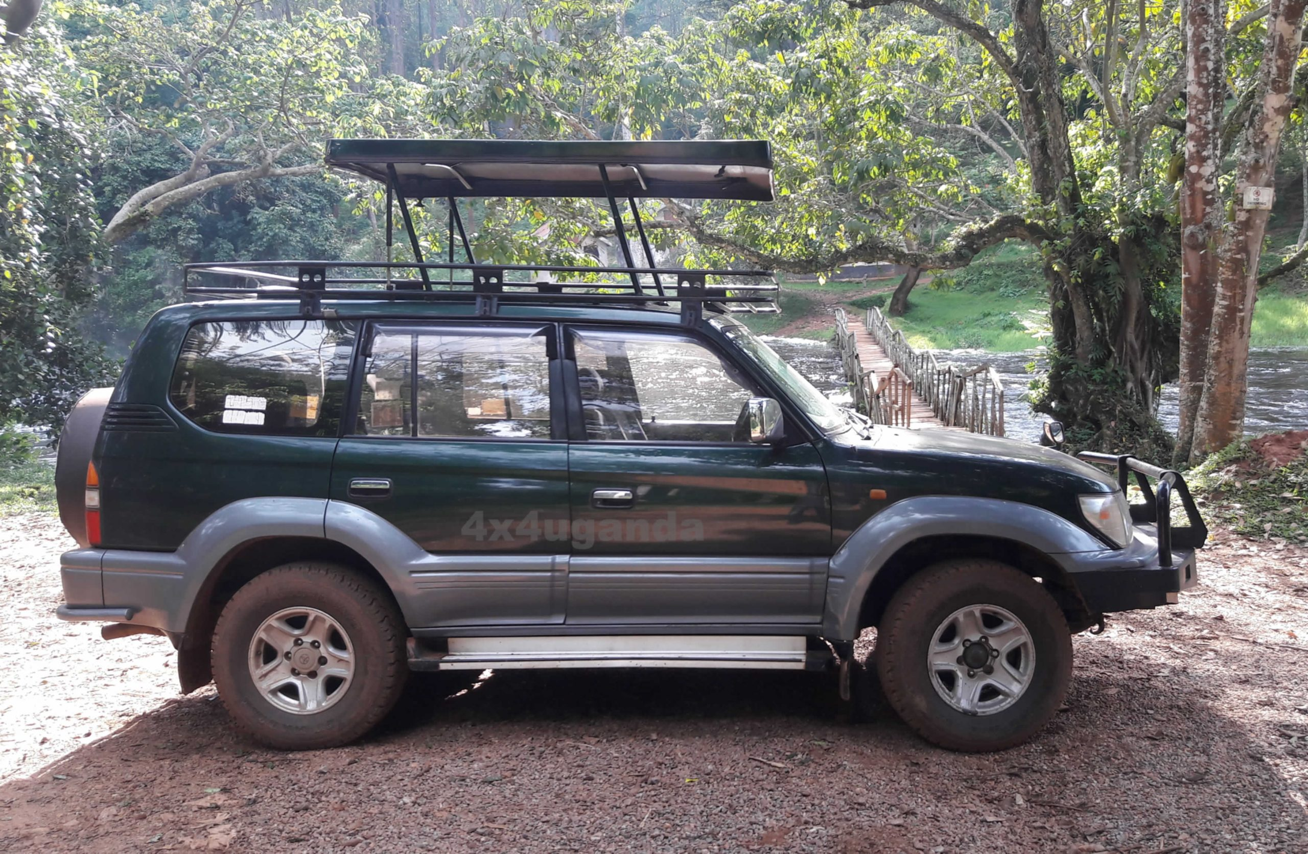 Land Cruiser Prado with Safari Roof
