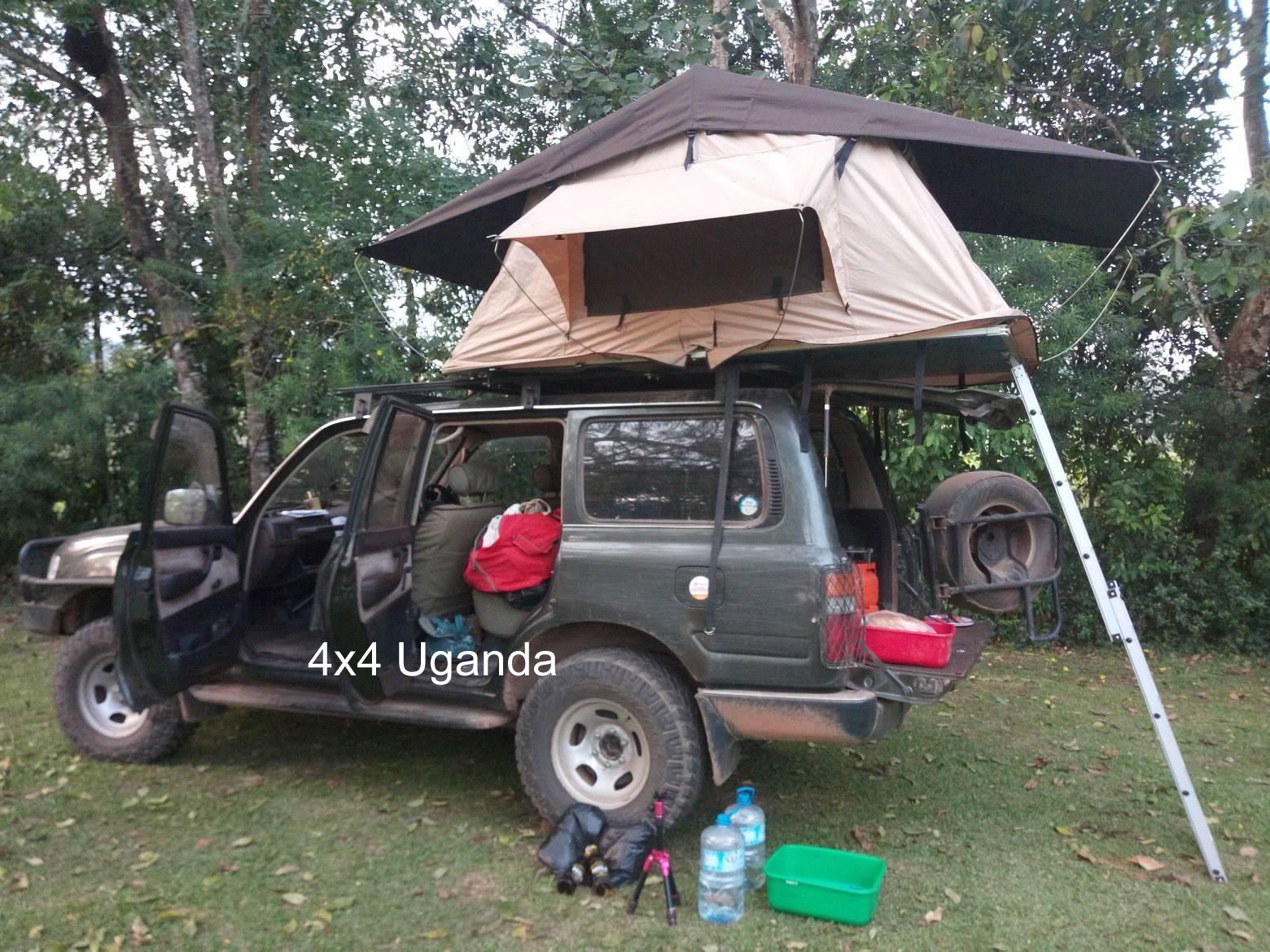 Land Cruiser GX with Top Tent