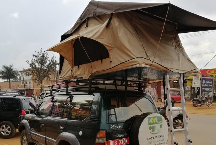 Top Tent Toyota Prado