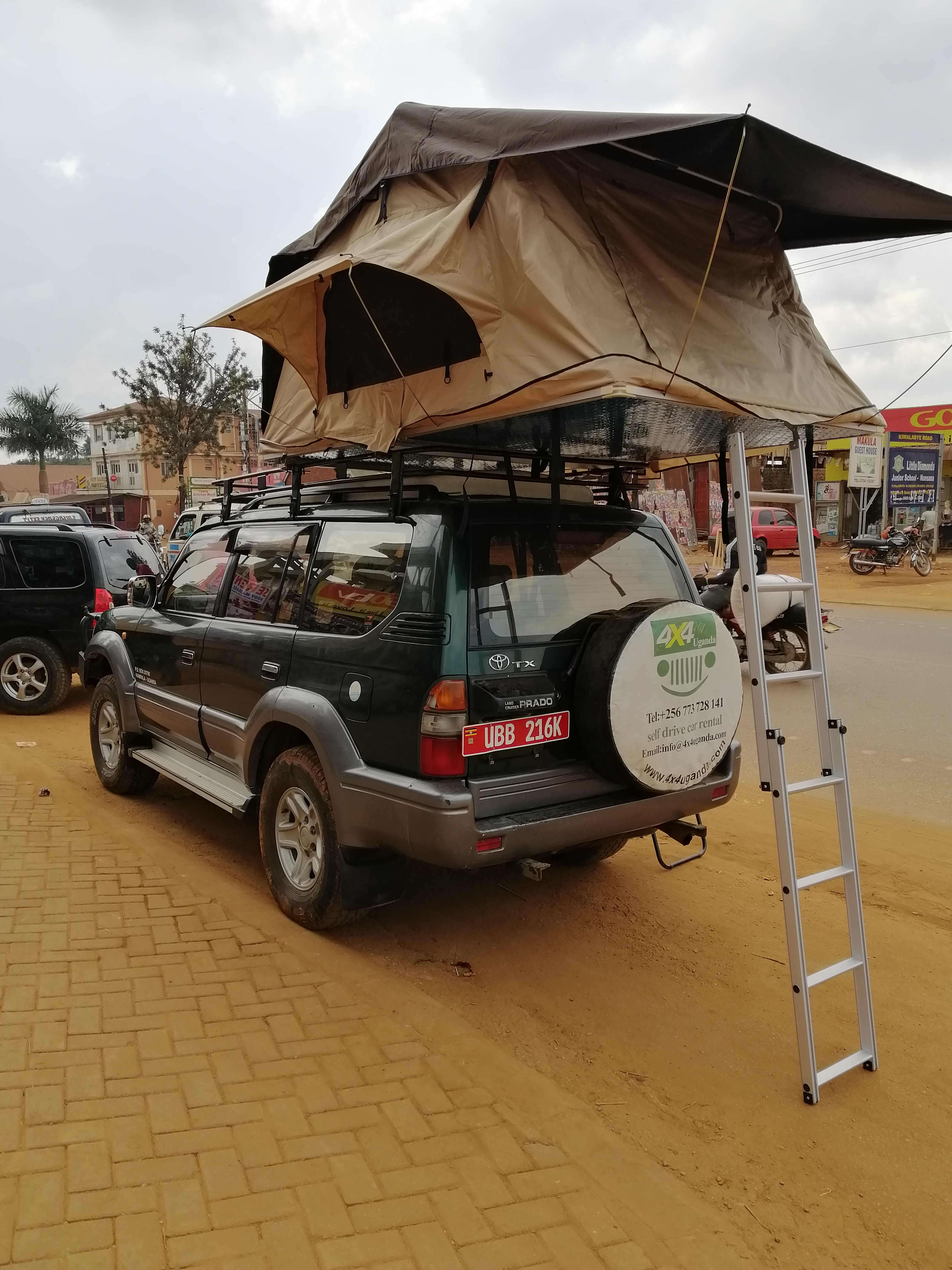 Roof Top Tent Prado