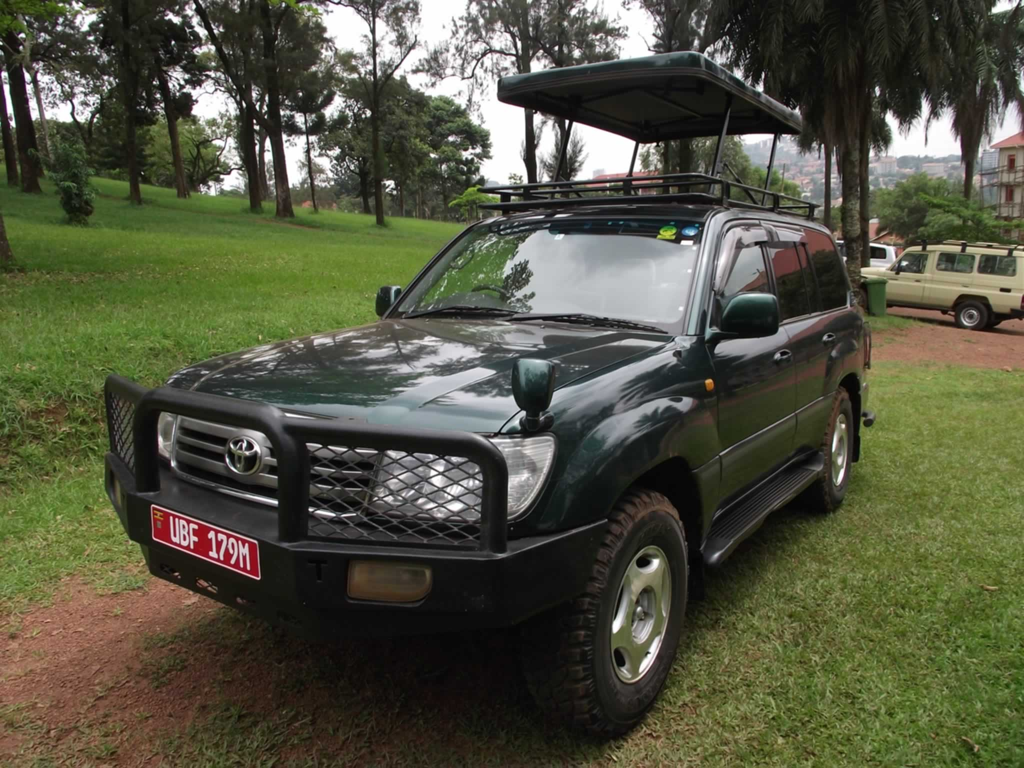 Land cruiser V8 Self Drive Uganda