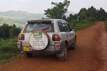 Rav4 self-drive Hire Uganda