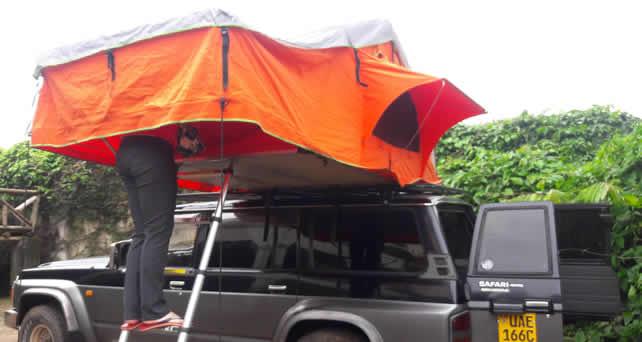 4x4 Nissan Safari with Camping