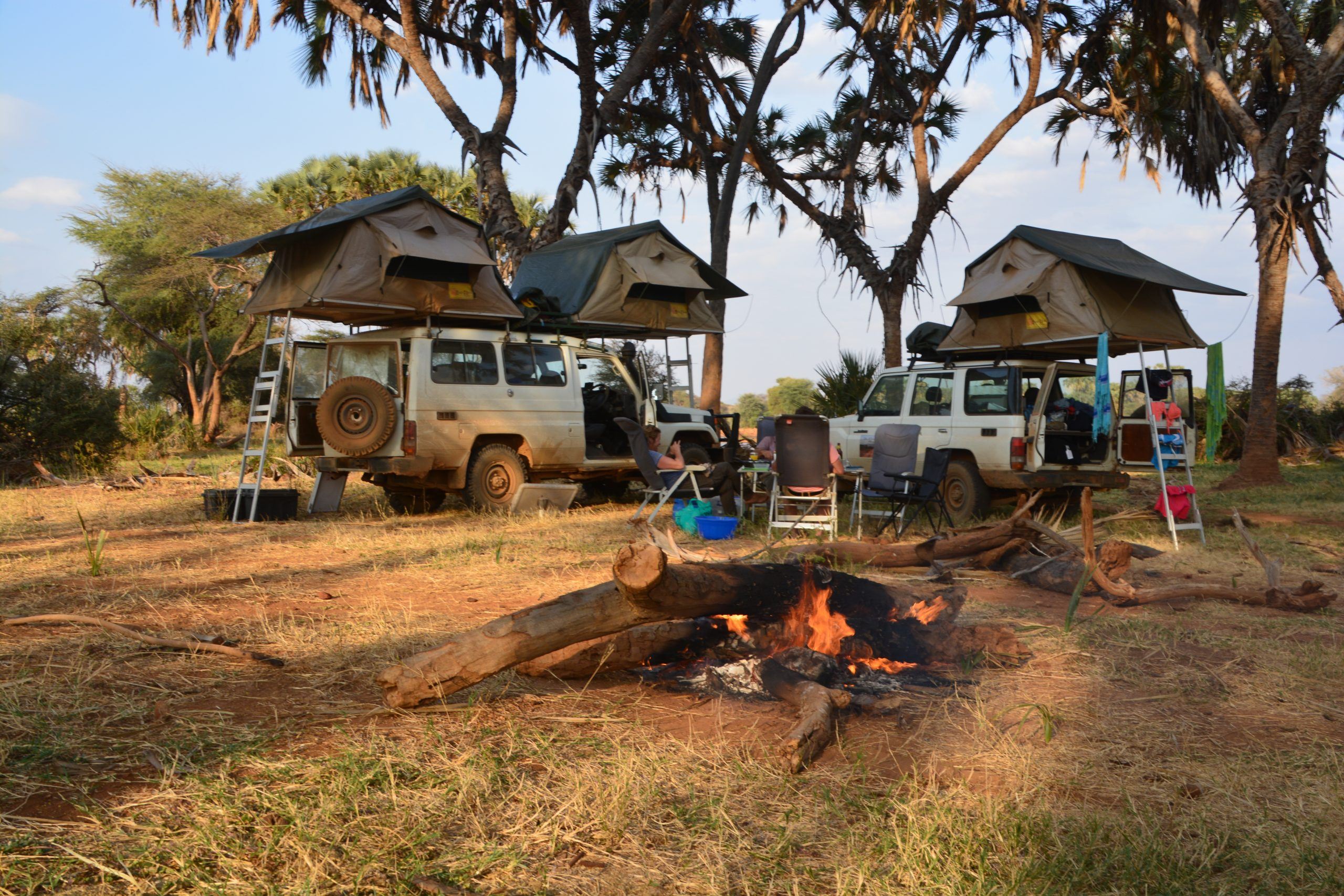 Group Camping in East Africa