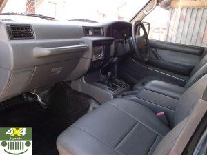Land Cruiser VX Interior