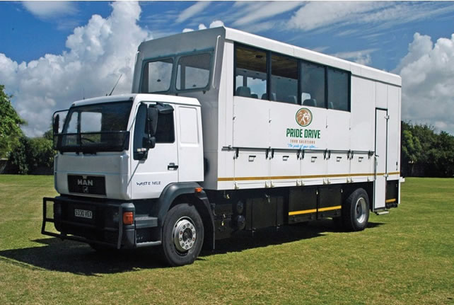 Overland trucks for hire in East Africa
